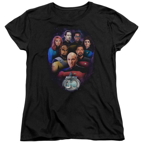 Image for Star Trek The Next Generation Woman's T-Shirt - Crew 30