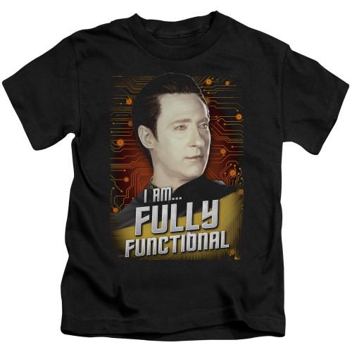 Image for Star Trek The Next Generation Kids T-Shirt - Fully Functional