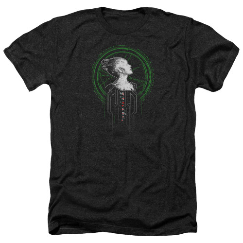 Image for Star Trek The Next Generation Heather T-Shirt - Borg Queen