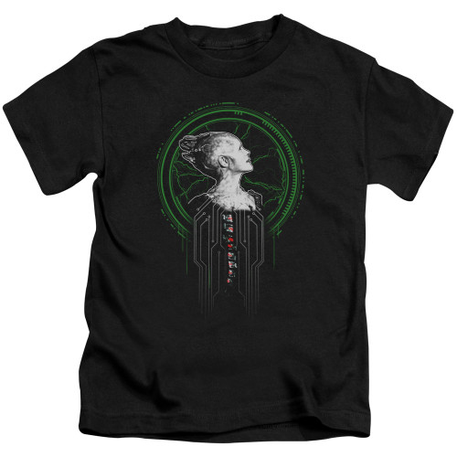 Image for Star Trek The Next Generation Kids T-Shirt - Borg Queen