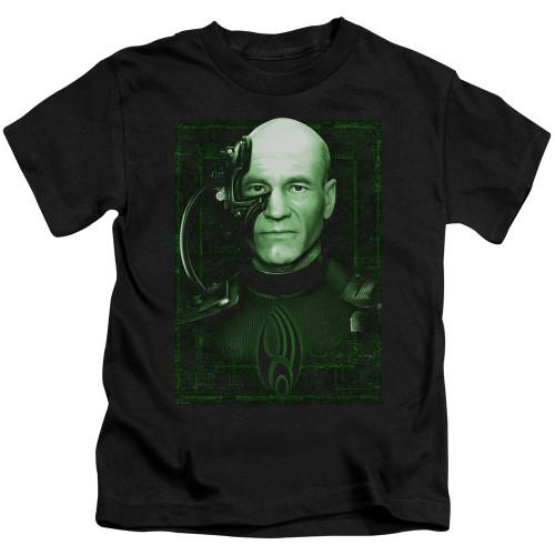Image for Star Trek The Next Generation Kids T-Shirt - Locutus of Borg