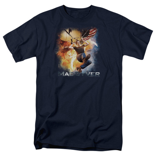 Image for MacGyver T-Shirt - Parachute