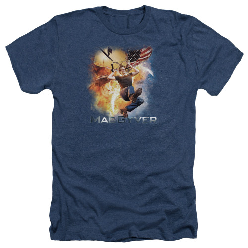Image for MacGyver Heather T-Shirt - Parachute