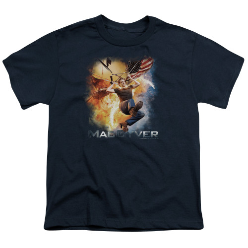 Image for MacGyver Youth T-Shirt - Parachute