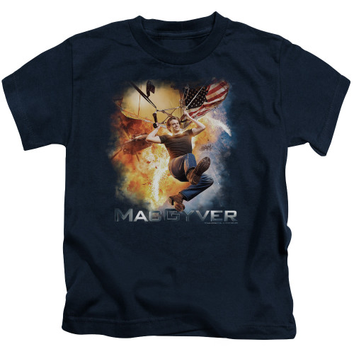 Image for MacGyver Kids T-Shirt - Parachute