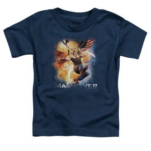 Image for MacGyver Toddler T-Shirt - Parachute