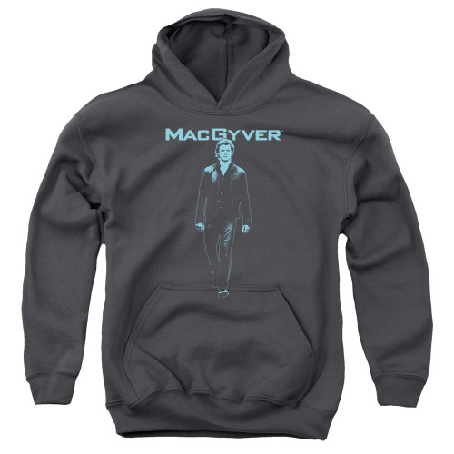 Image for MacGyver Youth Hoodie - Mono Blue