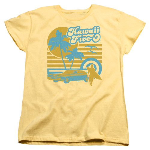 Image for Hawaii Five-0 Woman's T-Shirt - 5-0 Surfer