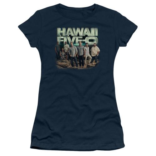 Image for Hawaii Five-0 Girls T-Shirt - Cast