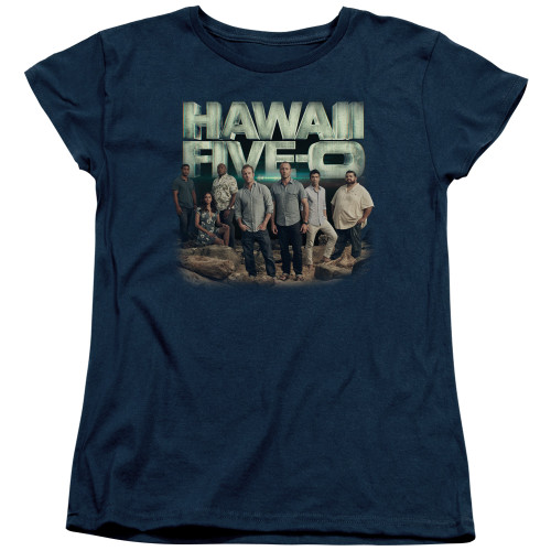 Image for Hawaii Five-0 Woman's T-Shirt - Cast