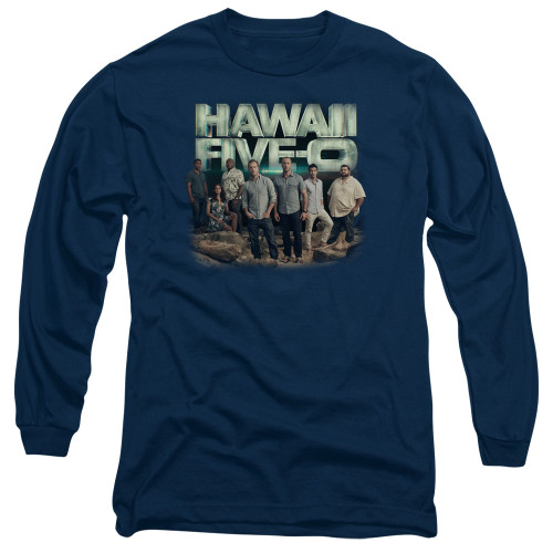 Image for Hawaii Five-0 Long Sleeve T-Shirt - Cast