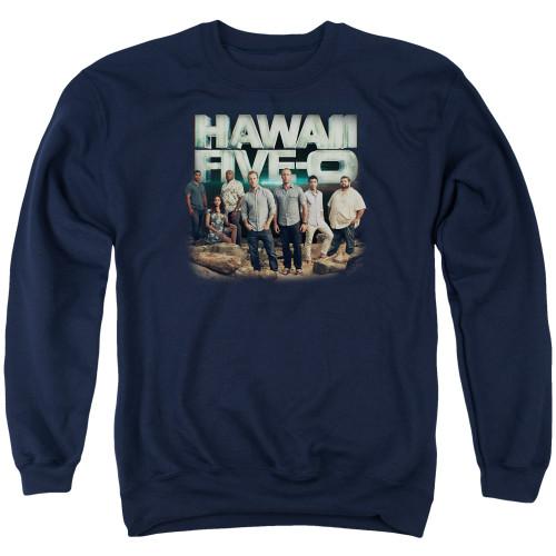 Image for Hawaii Five-0 Crewneck - Cast