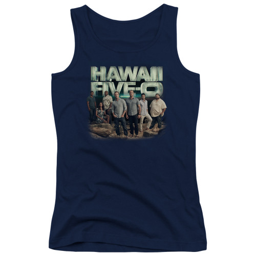 Image for Hawaii Five-0 Girls Tank Top - Cast