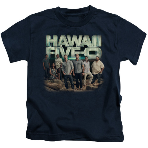 Image for Hawaii Five-0 Kids T-Shirt - Cast