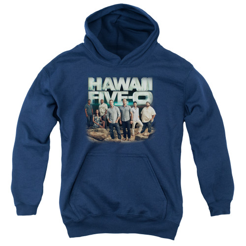 Image for Hawaii Five-0 Youth Hoodie - Cast