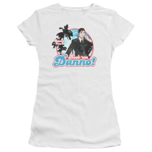 Image for Hawaii Five-0 Girls T-Shirt - Book 'Em Danno