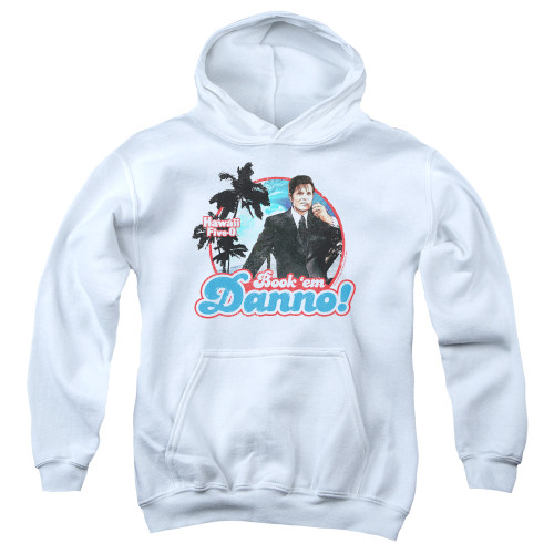Image for Hawaii Five-0 Youth Hoodie - Book 'Em Danno