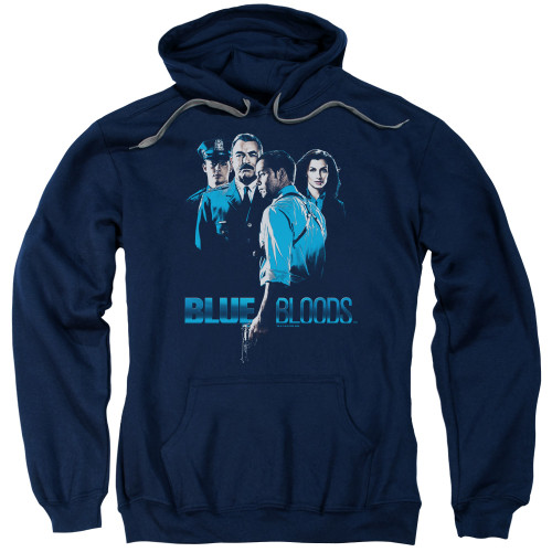 Image for Blue Bloods Hoodie - Blue Inverted