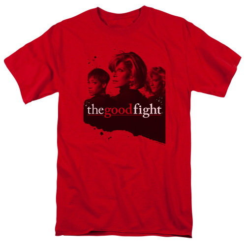 Image for The Good Fight T-Shirt - Diane Lucca Maia