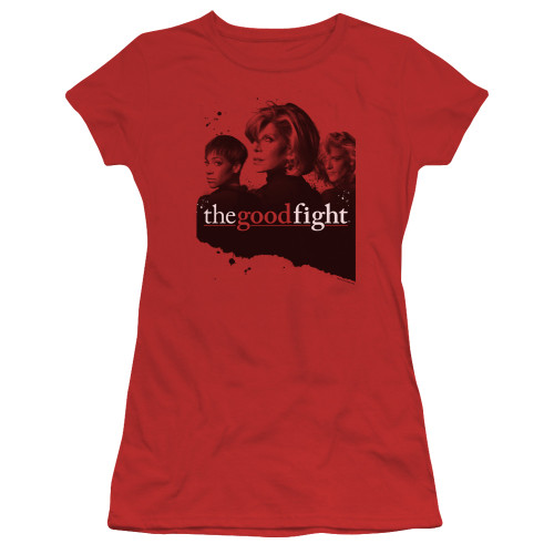 Image for The Good Fight Girls T-Shirt - Diane Lucca Maia
