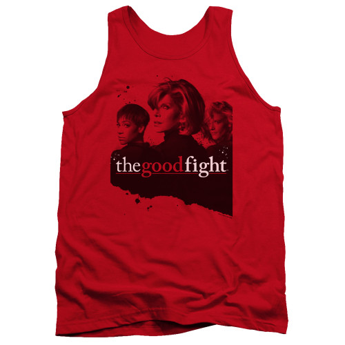 Image for The Good Fight Tank Top - Diane Lucca Maia