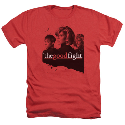 Image for The Good Fight Heather T-Shirt - Diane Lucca Maia