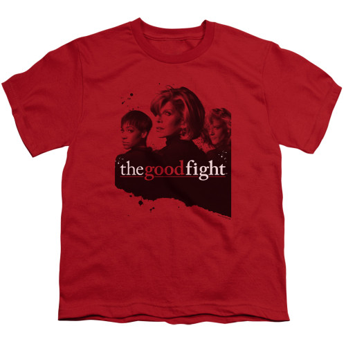 Image for The Good Fight Youth T-Shirt - Diane Lucca Maia
