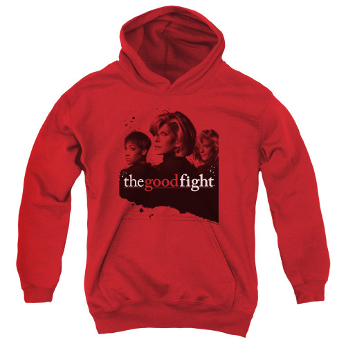 Image for The Good Fight Youth Hoodie - Diane Lucca Maia
