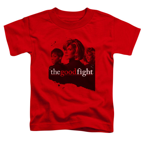 Image for The Good Fight Toddler T-Shirt - Diane Lucca Maia