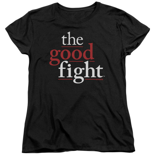 Image for The Good Fight Woman's T-Shirt - Logo