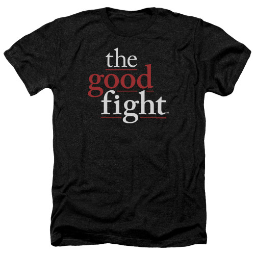 Image for The Good Fight Heather T-Shirt - Logo