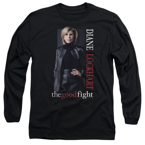 Image for The Good Fight Long Sleeve T-Shirt - Diane