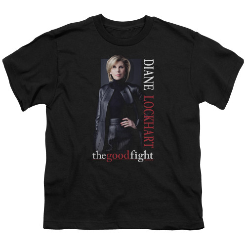 Image for The Good Fight Youth T-Shirt - Diane