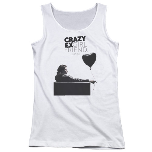 Image for Crazy Ex-Girlfriend Girls Tank Top - Crazy Mad