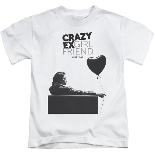Image for Crazy Ex-Girlfriend Kids T-Shirt - Crazy Mad