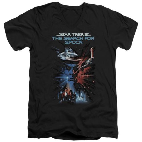 Image for Star Trek T-Shirt - V Neck - The Search For Spock