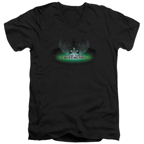 Image for Star Trek T-Shirt - V Neck - Nemesis