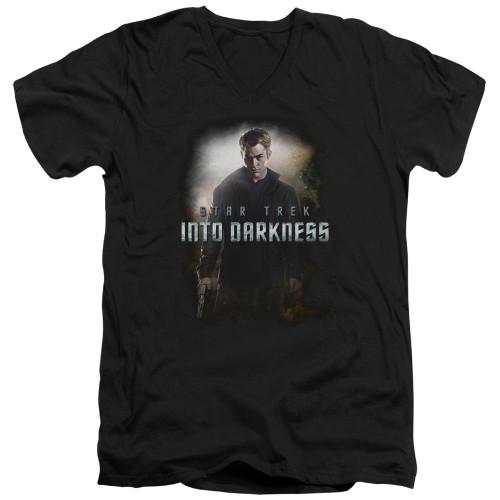 Image for Star Trek Into Darkness T-Shirt - V Neck - Kirk