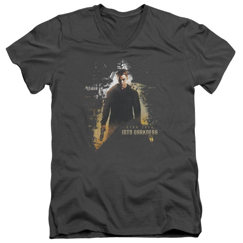 Image for Star Trek Into Darkness T-Shirt - V Neck - Dark Hero