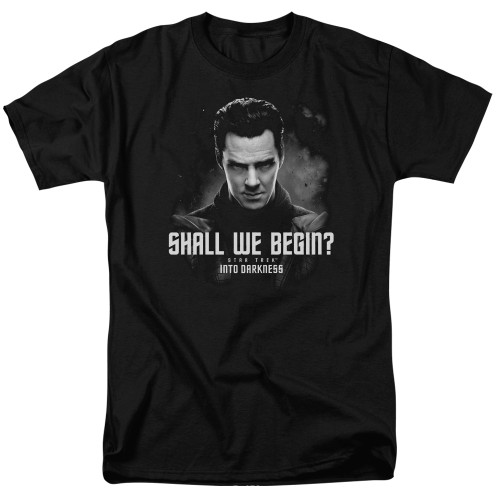 Image for Star Trek Into Darkness T-Shirt - Shall We Begin