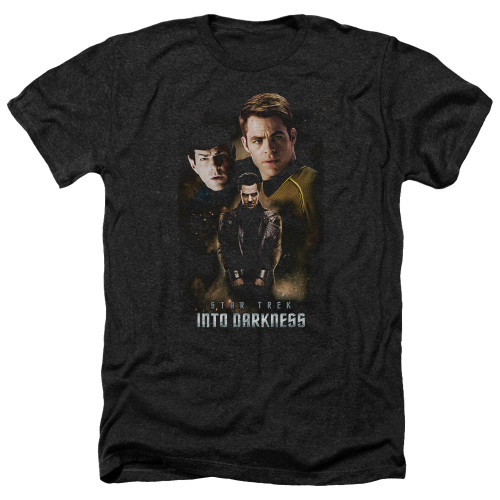 Image for Star Trek Into Darkness Heather T-Shirt - Aftermath