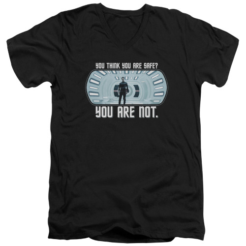 Image for Star Trek Into Darkness T-Shirt - V Neck - You Are Not Safe