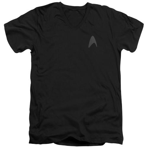 Image for Star Trek Into Darkness T-Shirt - V Neck - Command Logo
