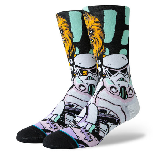Image for Stance Socks - Star Wars Warped Chewbacca