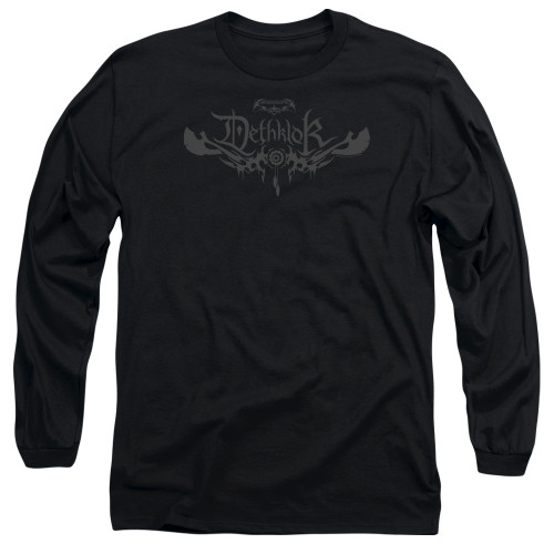 Image for Metalocalypse Long Sleeve Shirt - Deathklok Logo