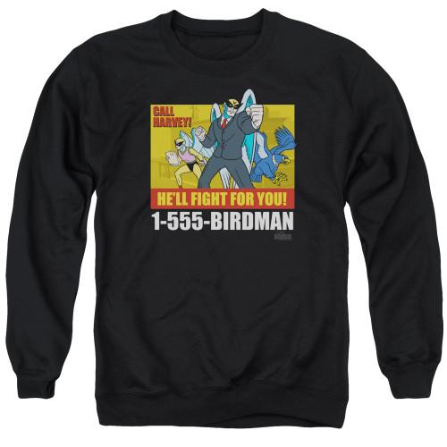 Image for Harvey Birdman Attorney at Law Crewneck - Law Ad