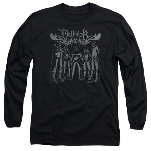 Image for Metalocalypse Long Sleeve Shirt - Deathklok Band