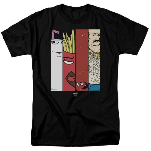 Image for Aqua Teen Hunger Force T-Shirt - Group Tiles