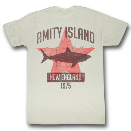 Image for Jaws T-Shirt - Amity Island 1975