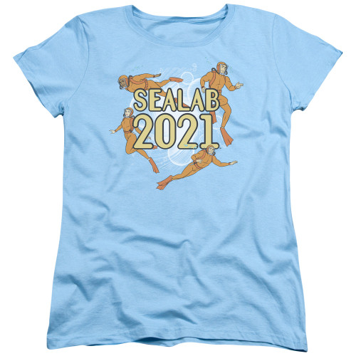 Image for Sealab 2021 Womans T-Shirt - Suit Up